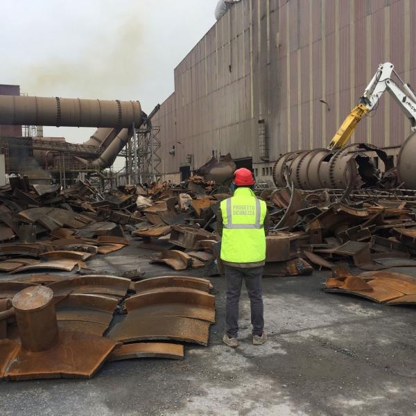 Demolizione ex acciaieria Stefana e recupero impianto produzione barre in acciao